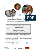Hh FunDay Flyer