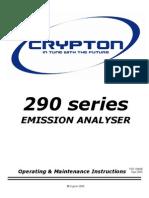 290 Series Emission Analyser