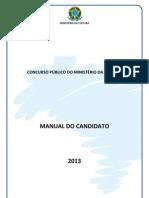 Ministério da Cultura - Manual