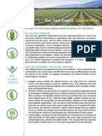 Fact Sheet Zinc Fertilizer
