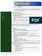 Resumos Vestibular - Biologia - Fisiologia Vegetal