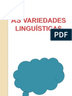 86327417 as Variedades Linguisticas