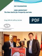 Africa Third Liberation PPT ADB 2013 Greg