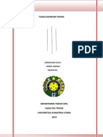Tugas Ekonomi Teknik (080404148)