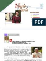 """Rivista """"Amici di Alberto e Carla on-line"""""""