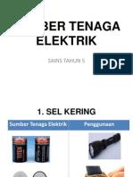 SUMBER TENAGA ELEKTRIK