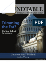 Tufts Roundtable, Volume 2, December 2008
