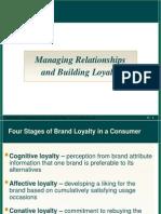 Managing Customer Relationship