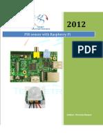 Raspberrypi with pir sensor