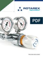 Reguladores de Pressao Para Gases Especiais Rotarex