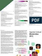Agenda Cultural Mvd 2013