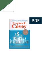 A 8-A Treapta a Intelepciunii Stephen R Covey