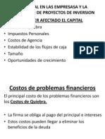 El Capital en Las Empresas