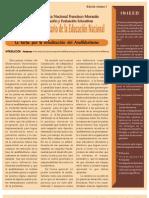Analfabetismo en Honduras por Renán Rápalo