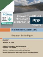 Réunion publique économie locale 28.02.13
