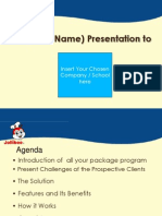 NKAG SML Presentation Sample Template
