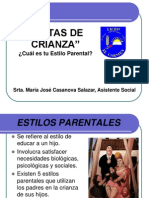 Exposición Estilos Parentales