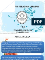 PP Gigi Tiruan Lepasan