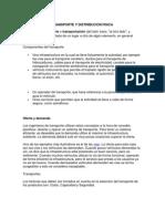 3.4.5 Transporte y Distribucion Fisica
