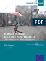 Climate Change Conflict and Fragility Nov09