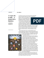 El origen de la vida a través de la química  NGM en español