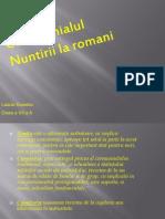 Ceremonialul Nuntii La Romani
