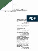 Heidegger_indeterminability of Time Sein Und Zeit