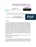 Appearance Based Face Recognition by Pca and Lda