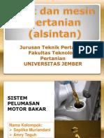 Sistem Pelumas Motor Bakar