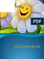Occlusion in Fpd-13.08.10