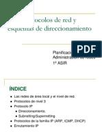 UT5-Protocolos de Red y Esquemas de Direccionamiento