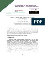 Digital Audio Watermarking Applications