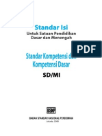 Standar Isi SD(1)_2