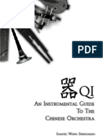 Preview of 'QI - An Instrumental Guide To The Chinese Orchestra'