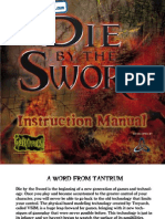 Die by the Sword - Manual - PC