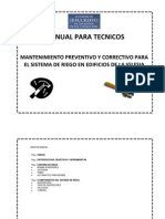 Manual Para Tecnicos (Sist Riego)