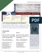 2013 TX LEGISLATURE - Gun Bills Review