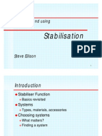 Choosing and Using Stabilisation