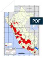 Zonas Con Peligro Potencial de Huayco