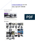 Projector HID Auxiliary Light Set