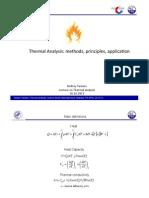 Andrey Tarasov Thermal Analysis 121026
