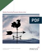 Poultry Processing Economic Review Focus Management Group 2012