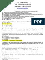 RESOLUÇÃO SIMULADO HISTÓRIA IDADE MÉDIA IDADE MODERNA PROF. MARCO AURELIO GONDIM [www.marcoaurelio.tk]