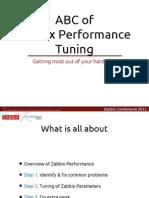 Zabbix Tuning