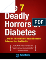 7 Deadly Horrors Diabetes