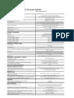 Audi A6 3.0 TDI (230kW) Quattro S Tronic Tehnilised Andmed PDF Formaadis (Inglise Keeles)