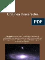 Originea Universului 2007