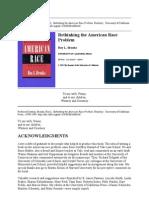 Brooks_Rethinking the American Race Problem