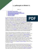 Democracia y poliarquía en Robert A por  Ramón Máiz