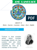 Culture & Language Presentation